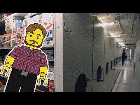 The Secret Vaults At Lego HQ