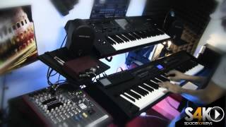 Roland Rd700sx stage piano performed by S4K ( Space4Keys Keyboard Solo )