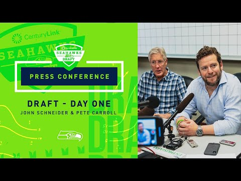 Seahawks General Manager John Schneider & Head Coach Pete Carroll 2019 Draft Day 1 Press Conference