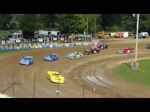 Late Models B Feature at Great Lakes Nationals, Crystal Motor Speedway, 09-18-16