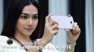 Samsung Galaxy A 2016 Quick Review