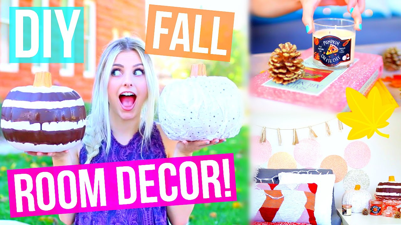 diy fall room decor ideas! cute + easy! | aspyn ovard - youtube