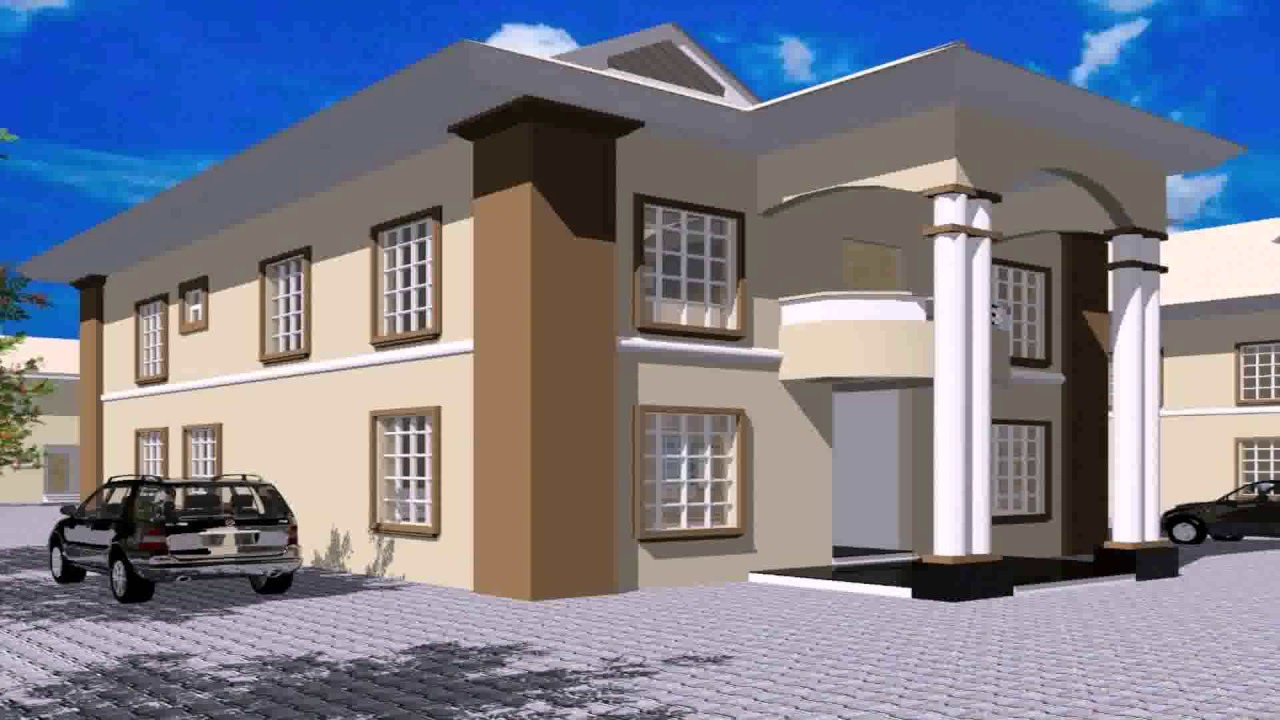 Nigeria house plans for Modern house designs in nigeria