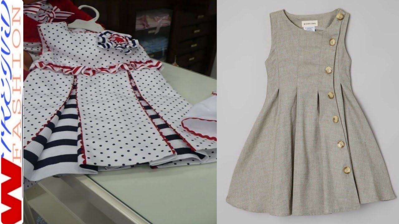 Baby frock design with explaining her design // Letest ...