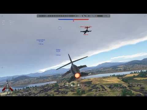 Сбил Пантеру на МИГ-17 с оторванными крыльями - YouTube