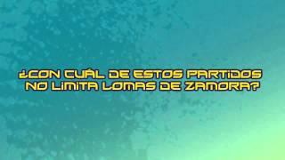 Trivia: ¿Con cuál de estos partidos no limita Lomas de Zamora?