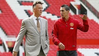 Manchester United unveil record £60m signing Angel di Maria