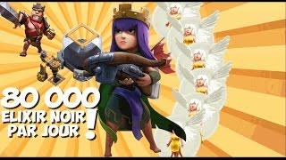 Up tes héros facilement ! Farm 80 000 elixirs noirs par jours | HDV 9 & 10 | Clash of Clans FR