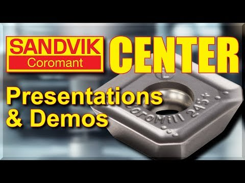 Sandvik Coromant Center & CNC Cutting Demos!