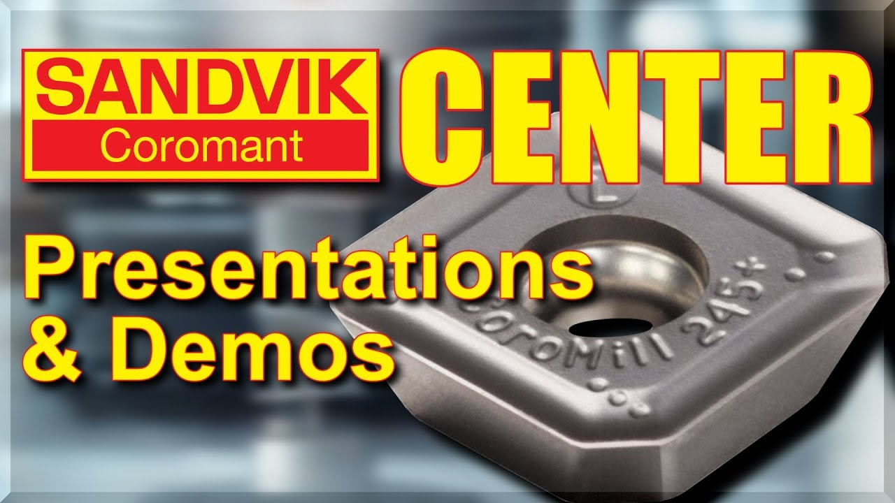 Sandvik Coromant Center & CNC Cutting Demos!