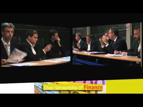 """Stewardship of Finance - Panel discussion """"Law, Ethics and the business world"""""""