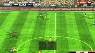 Final de vuelta - America vs Cruz Azul - Simulación PES 2013 Thumbnail