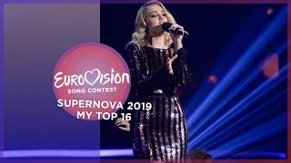 Supernova 2019 - My top 16