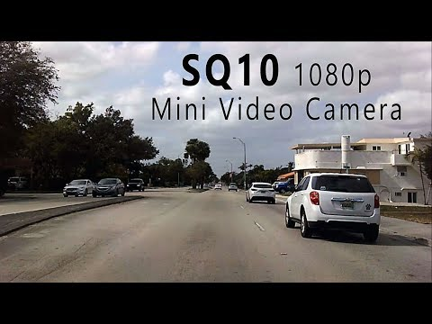 SQ10 1080p Mini Video Infrared Camera | Video Test (January 2018)
