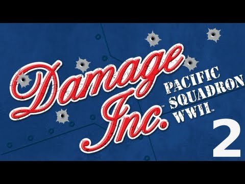 Let's Play Damage Inc. Pacific Squadron WWII #2 [Deutsch] [Full-HD]