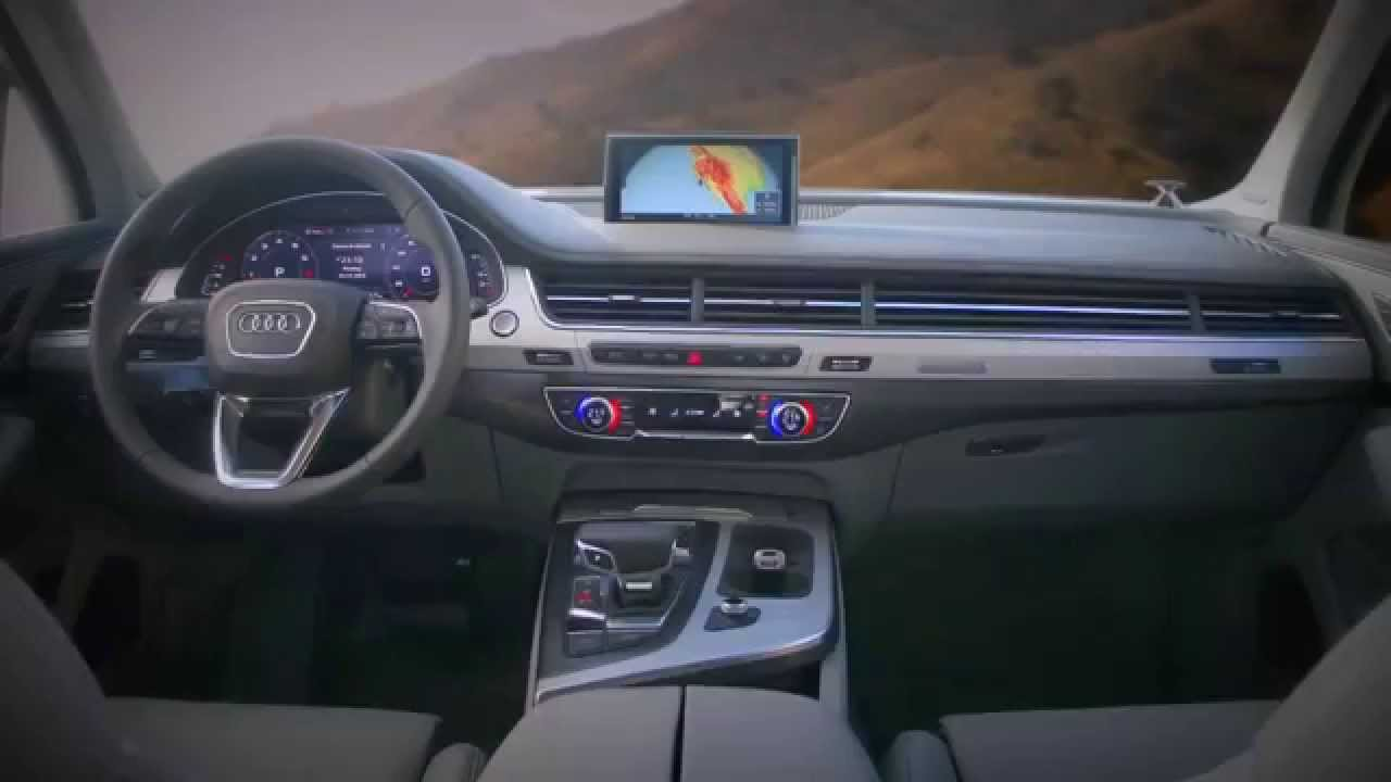 New 2015 Audi Q7 Interior Youtube