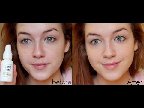 bareminerals prime time before and after. bare minerals bb primer cream review \u0026 demo bareminerals prime time before and after e