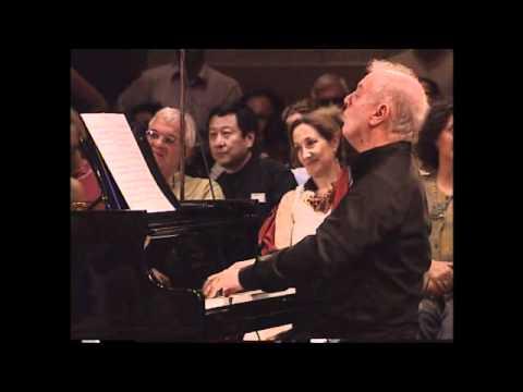 The jerusalem international chamber music fastival-  Daniel Barenboim & Lang Lang