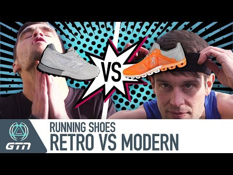 Retro Vs. Modern | How Much Difference Do Running Shoes Make?