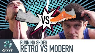 Retro Vs. Modern   How Much Difference Do Running Shoes Make?