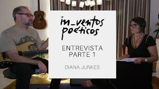 diana junkes e rodrigo bragança I entrevista parte 1 I in_ventos poéticos #8