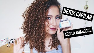 Detox Capilar sem Shampoo Anti Resíduo - Argila Zeena Rhassoul | Mari Morena