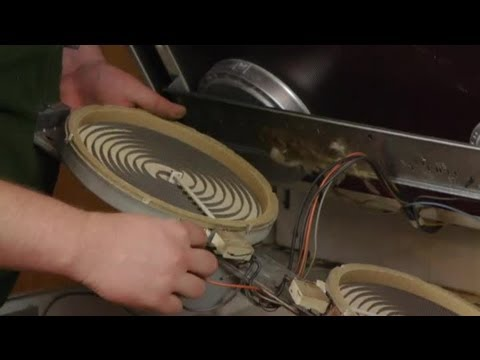 How To Replace Elements On Glass Top Electric Ranges : Electrical Repairs
