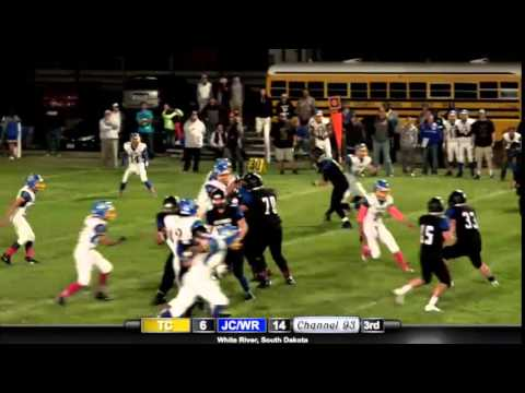 Jones County/White River Wolverines vs Todd County Falcons