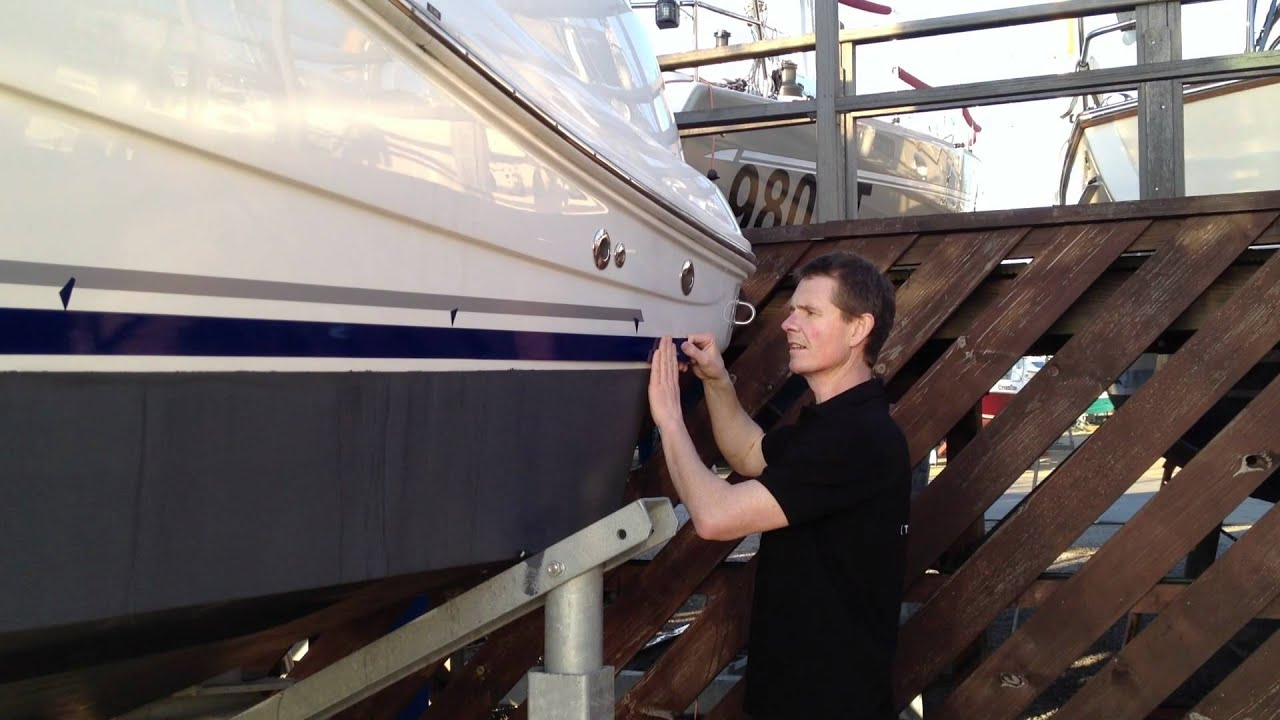 How To Apply A Boat Stripe YouTube - Boat decals and stripes   easy removal