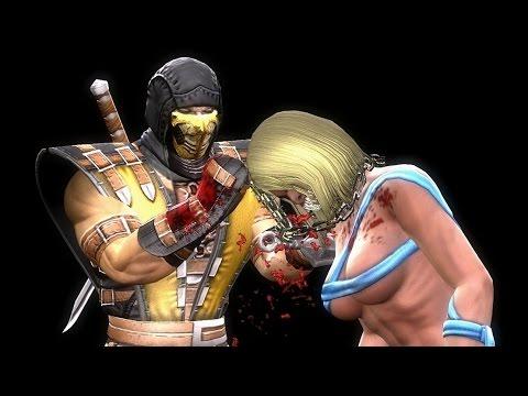 Mortal Kombat X Scorpion 's  Costume For MK 9 : Fatalities & Gameplay