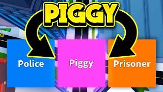 PLAYING JAILBREAK AS PIGGY! (ROBLOX Jailbreak)