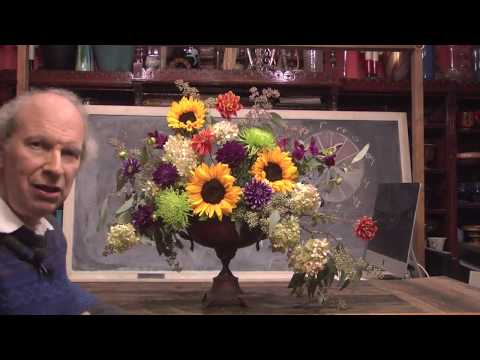 From Farm To Table Style Floral Art At Rittners Floral School Boston, MA