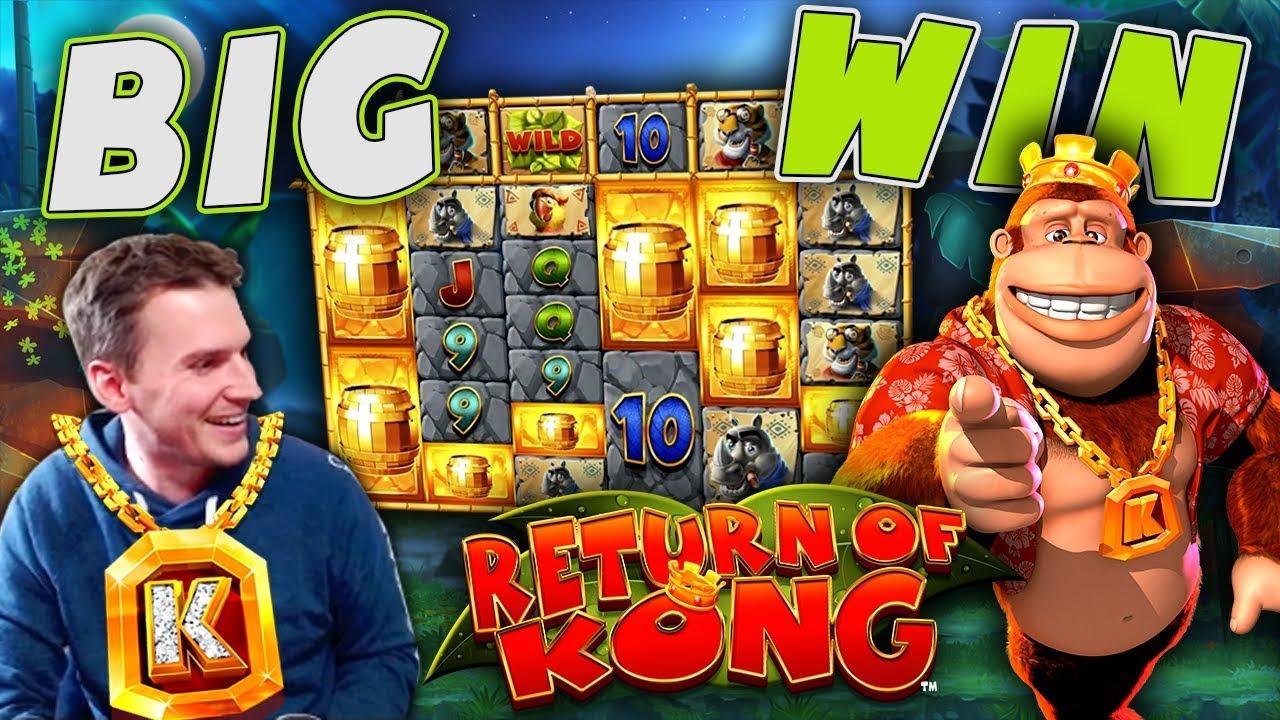 BIG WIN on Return of Kong Megaways - ?10 Bet!