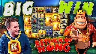 BIG WIN on Return of Kong Megaways - £10 Bet!