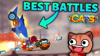 C.A.T.S BEST BATTLES & FUNNY MOMENTS - INSANE FIGHTS COMPILATION - Crash Arena Turbo Stars