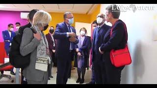 Mme. la Commissaire Européenne aux Affaires Intérieures en visite à l'ANAPEC