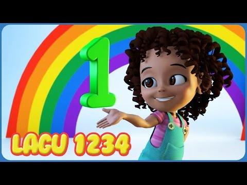 belajar berhitung 1-10 | lagu anak anak terpopuler | lagu anak indonesia