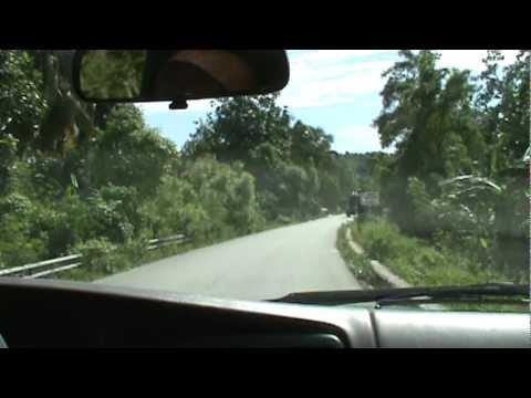 Drive into Jacmel Haiti