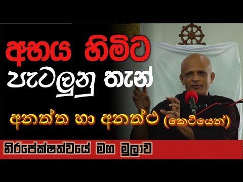 Nirapekshathwaye Maga Mulawa (මුලාව) -  Anatta & Anattha (Short Version)