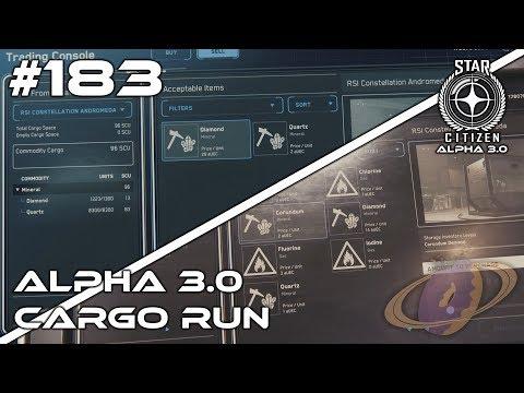 Star Citizen #183 Alpha 3.0 Cargo Run [Deutsch] [QuadHD]