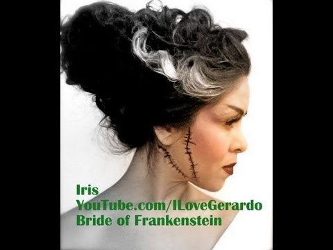 Makeup Video For Bride Of Frankenstein Youtube