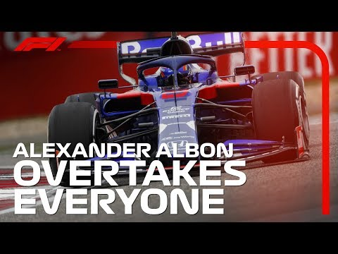 Alexander Albon's China Fightback | 2019 Chinese Grand Prix