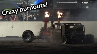 BURNOUT PIT! Cleetus and Cars 2019 [4K]