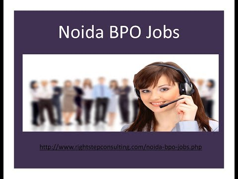 Noida BPO Jobs-Right Step Consultancy