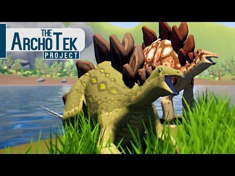 The Archotek Project - Vida De Um Stegosaurus, Ataque De T-Rex! | Dinossauros (#4) (PT-BR)
