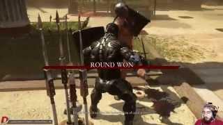 Ryse Son of Rome CRYSIS/NANOSUIT Gladiator CoOp Arena Gameplay