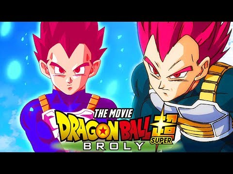 Dragon Ball Super Broly Movie - Vegeta Goes Super Saiyan God Red For The First Time Ever