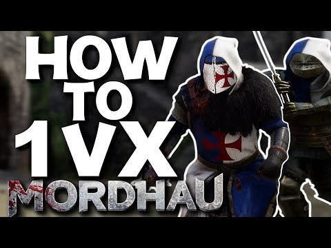 Fighting Multiple Opponents - Mordhau (Positioning, Combat Strategies, Loadout)