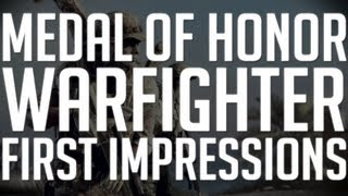 Medal of Honor: Warfighter: First Impressions