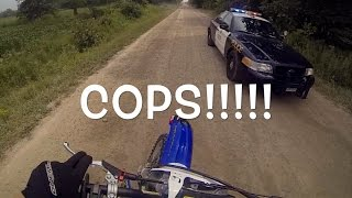 DIRTBIKES VS COPS 2017